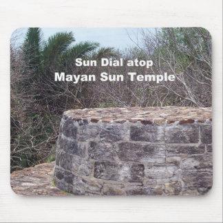 Mayan Sun Dial Mouse Pads