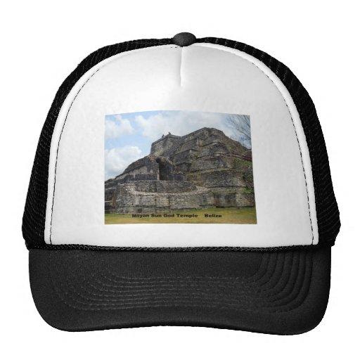 Mayan Sun God Temple, Belize Hat