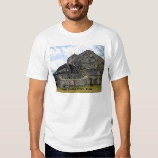 Mayan Sun God Temple, Belize Tee Shirt