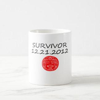 Mayan Survivor doomsday 12 21 2012 Coffee Mug
