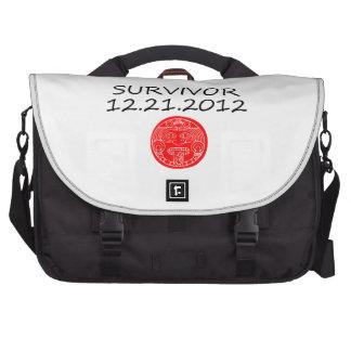 Mayan Survivor doomsday 12 21 2012 Laptop Bags