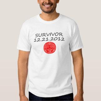 Mayan Survivor doomsday 12 21 2012 T Shirt