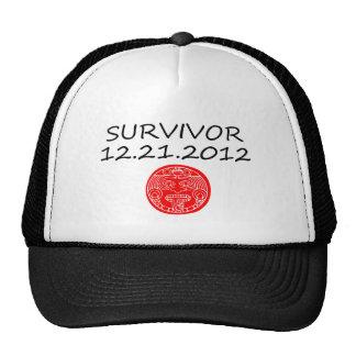 Mayan Survivor doomsday 12 21 2012 Trucker Hat