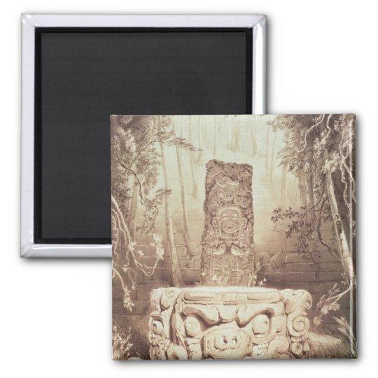 Mayan temple, Honduras Magnet