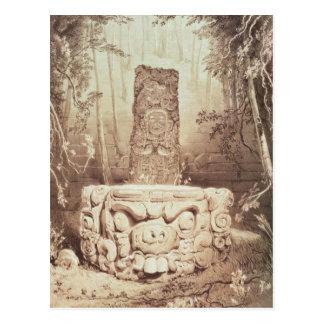 Mayan temple, Honduras Postcard