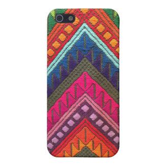 Mayan textile iPhone 5 case