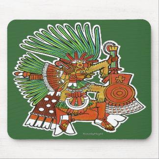 Mayan Tezcalipoca God Mouse Pads