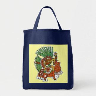 Mayan Tezcalipoca God Tote Bag