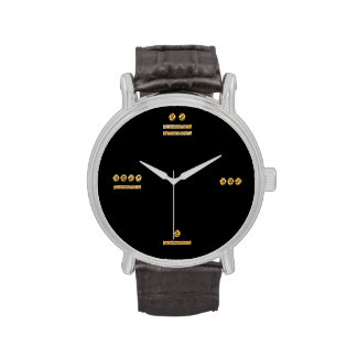 Mayan Time - gold/dark Wrist Watches