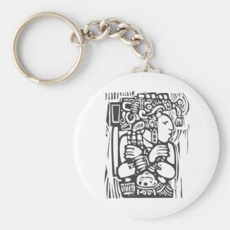 Mayan Torso Keychain