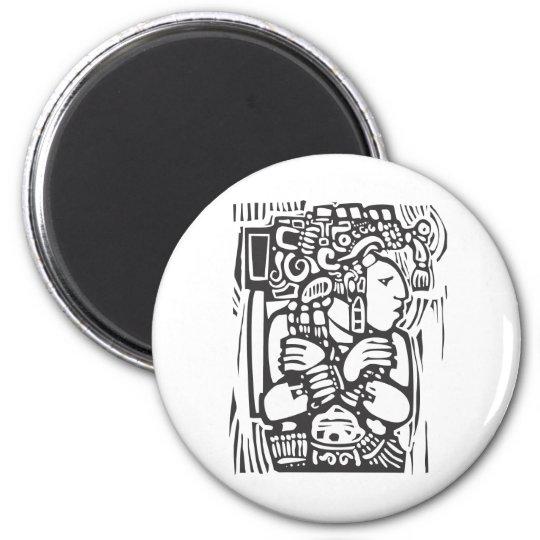 Mayan Torso Magnet
