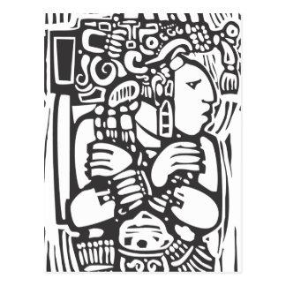 Mayan Torso Post Card