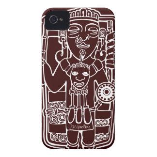 Mayan Totem iPod  Case Case-Mate iPhone 4 Case