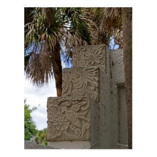 Mayan Trinity Postcard