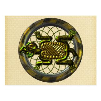 Mayan Turtle Postcard