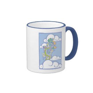 Mayan Vision Serpent Ringer Coffee Mug