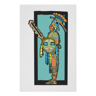 Mayan Warrior #2 Poster