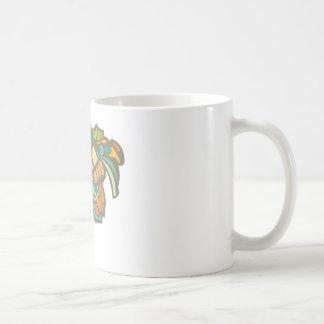 Mayan Warrior Head Coffee Mug