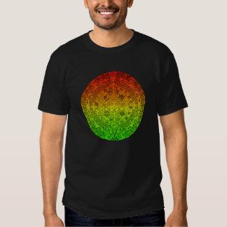 Mayan Wheel by Jolly Rastafari ~ Speak No Evil T Shirt