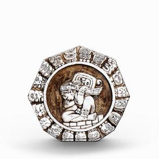 Mayan Zodiac Sculpture Paperweight Acrylic Award
