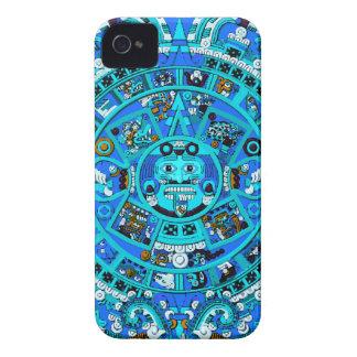 MayanCalendar2 4B+W iPhone 4 Cover