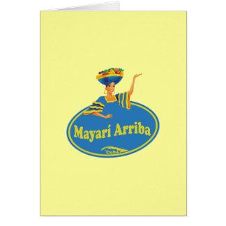 Mayarí Arriba. Greeting Card