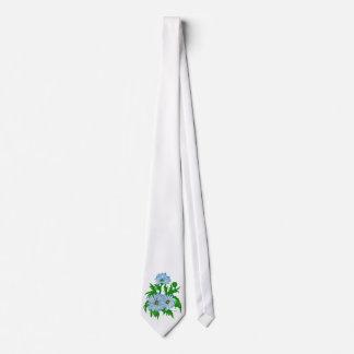 Mayas flores corbata