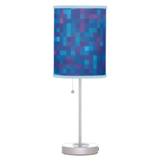 Maybe blue table lamp