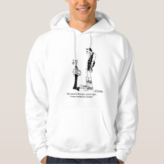 Maybe it Was Incidental Contact? Hoodie