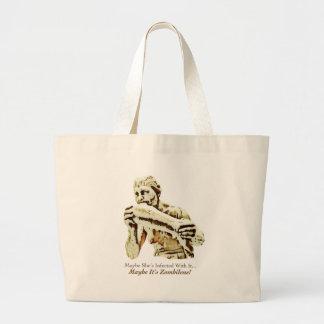 Maybe It's Zombilene! Menschenfresserin Jumbo Tote Bag
