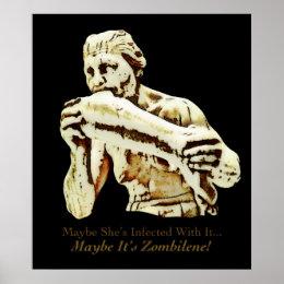 Maybe It's Zombilene! Menschenfresserin Poster