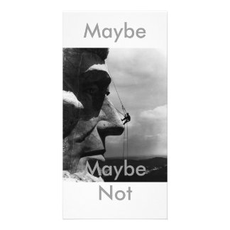 Maybe,Maybe Not Photocard Card