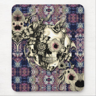 Maybe next time, skull with poppies. mouse pad
