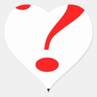 maybe suggestion afraid possibility black note mar heart sticker
