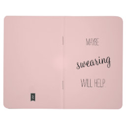 Maybe swearing will help notebook