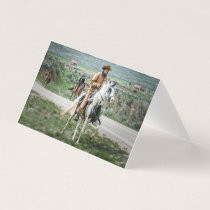 Maybell Horse Roundup #1 Note Card