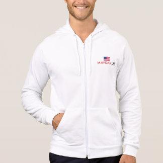 MAYDAY American Apparel Fleece Zip Hoodie,