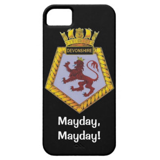 Mayday, Mayday, HMS Devonshire iPhone SE/5/5s Case