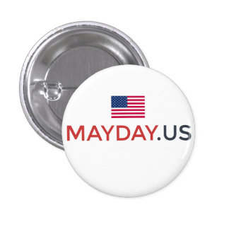 MAYDAY Supporter Button