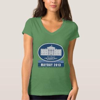 Mayday Women's V-Neck T-shirt