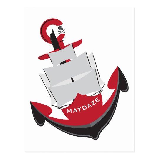maydaze anchor postcard
