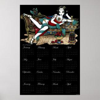 Mayet Egyptian Goddess Maat Angel 2012 Calendar Print