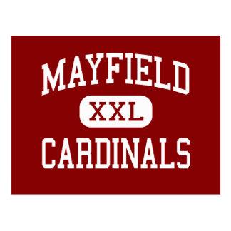 Mayfield - Cardinals - High - Mayfield Kentucky Postcard