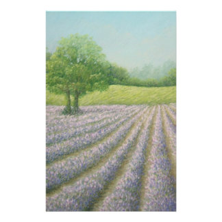 Mayfield Lavender in Bloom Basic Stationery