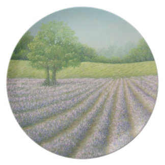 Mayfield Lavender in Bloom, Carshalton Plate