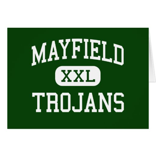 Mayfield - Trojans - High - Las Cruces New Mexico Greeting Cards