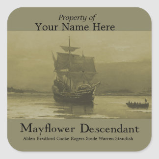 Mayflower  Bookplate
