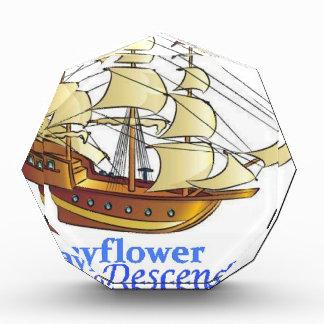 Mayflower Descendant Sailing Ship Award