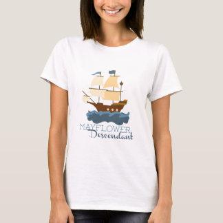 Mayflower Descendant T-Shirt