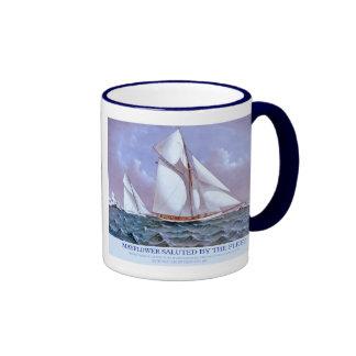 Mayflower & Galatea Ringer Coffee Mug